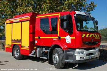 Fourgon-pompe tonne, Sapeurs-pompiers, Bouches-du-Rhône (13)