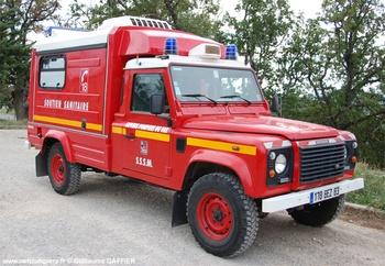 Véhicule de soutien sanitaire, Sapeurs-pompiers, Var (83)