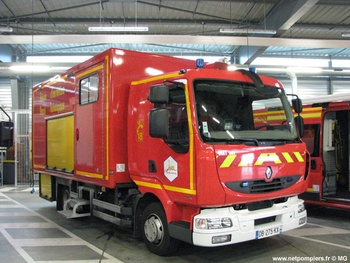 Véhicule pour interventions à risques technologiques, Sapeurs-pompiers, Jura (39)