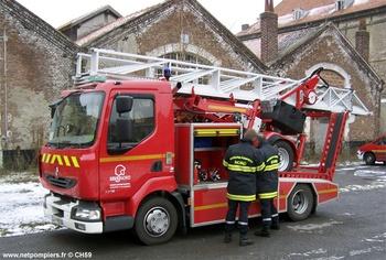 <h2>Echelle sur porteur motorisée - Douai - Nord (59)</h2>