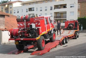 <h2>Camion-citerne pour feux de forêts léger - Saint-Symphorien-sur-Coise - Rhône (69)</h2>