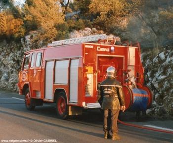 Fourgon-pompe tonne, Sapeurs-pompiers, Bouches-du-Rhône