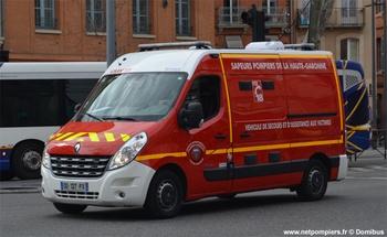 Véhicule de secours et d'assistance aux victimes, Sapeurs-pompiers, Haute-Garonne (31)