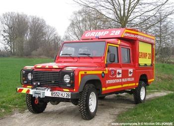 Véhicule pour interventions en milieu périlleux, Sapeurs-pompiers, Haute-Corse (2B)