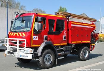 Camion-citerne rural, Sapeurs-pompiers, Mayenne (53)