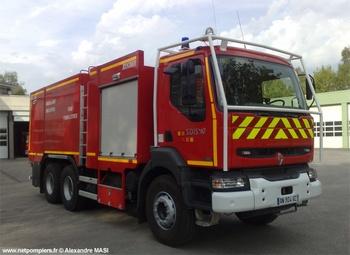 Camion-citerne d'incendie, Sapeurs-pompiers, Haute-Vienne