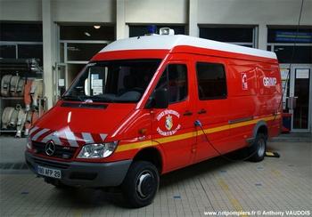 Véhicule pour interventions en milieu périlleux, Sapeurs-pompiers, Finistère (29)