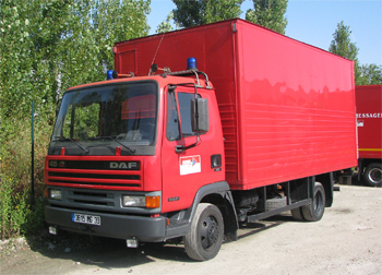 Véhicule de logistique, Sapeurs-pompiers, Gironde