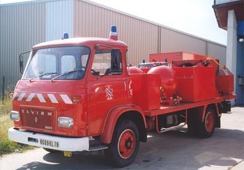 Véhicule mousse poudre, Sapeurs-pompiers, Yvelines (78)