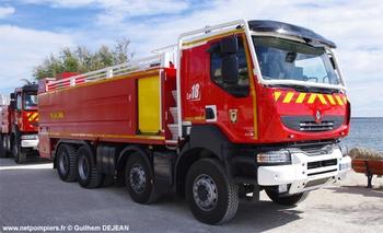Véhicule mousse, Sapeurs-pompiers, Hérault (34)