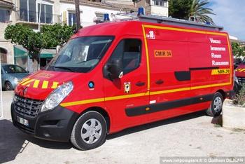 Véhicule pour interventions à risques technologiques, Sapeurs-pompiers, Hérault (34)