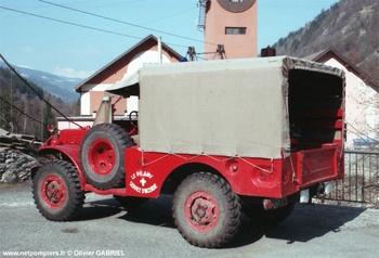 <h2>Camionnette d'incendie - Le Planay - Savoie (73)</h2>