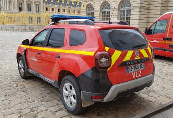 Véhicule de liaison, Service de sécurité incendie, Yvelines