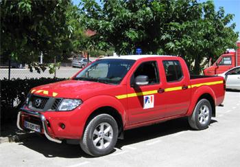 Véhicule de liaison, Sapeurs-pompiers, Aude