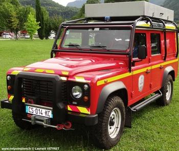 Véhicule pour interventions en milieu périlleux, Sapeurs-pompiers, Isère (38)