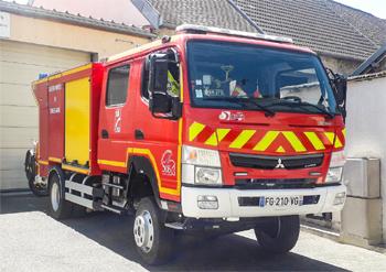 Camion-citerne rural léger, Sapeurs-pompiers, Seine-et-Marne (77)