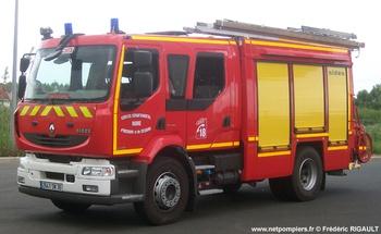 Fourgon-pompe tonne, Sapeurs-pompiers, Indre (36)