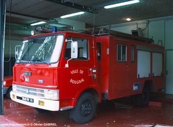 <h2>Fourgon-pompe tonne léger - Bougival - Yvelines (78)</h2>