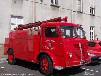 Camion-citerne d'incendie, Sapeurs-pompiers, Loire-Atlantique (44)