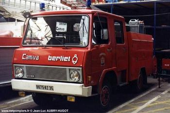 Véhicule de première intervention, Sapeurs-pompiers, Ille-et-Vilaine (35)