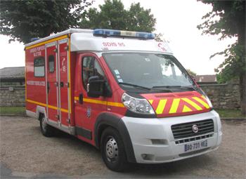 <h2>Véhicule de secours et d'assistance aux victimes - Val-d'Oise (95)</h2>