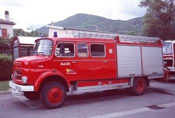 <h2>Fourgon-pompe tonne - Allos - Alpes-de-Haute-Provence (04)</h2>
