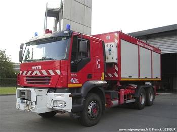 Véhicule porte-cellule, Sapeurs-pompiers, Pas-de-Calais (62)