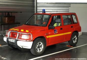 Véhicule de liaison, Sapeurs-pompiers, Vienne (86)