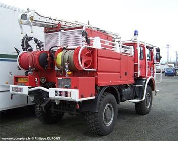 <h2>Camion-citerne pour feux de forêts - Luz-Saint-Sauveur - Hautes-Pyrénées (65)</h2>