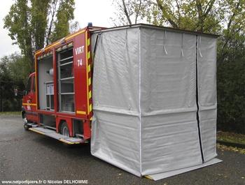 Véhicule pour interventions à risques technologiques, Sapeurs-pompiers, Haute-Savoie