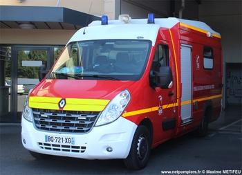 Véhicule de secours et d'assistance aux victimes, Sapeurs-pompiers, Calvados (14)