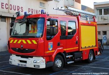 <h2>Fourgon-pompe tonne léger - Lourdes -  ()</h2>