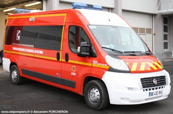 <h2>Véhicule de secours et d'assistance aux victimes - Tours - Indre-et-Loire (37)</h2>