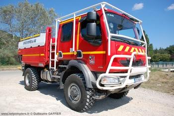 Camion-citerne pour feux de forêts, Sapeurs-pompiers, Var
