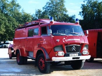 Fourgon-pompe, Sapeurs-pompiers, Gironde (33)