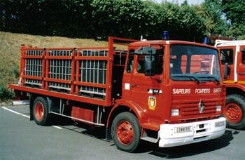 <h2>Véhicule de transport de liquide émulseur - Connerre - Sarthe (72)</h2>