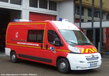 <h2>Véhicule de secours et d'assistance aux victimes - Moulins - Allier (03)</h2>