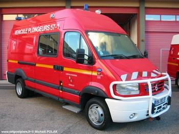 <h2>Véhicule de secours nautique - Metz - Moselle (57)</h2>