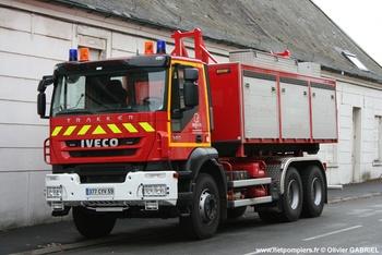 Véhicule porte-cellule, Sapeurs-pompiers, Nord (59)