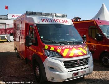 Ambulance de réanimation, Sapeurs-pompiers de Paris,  ()