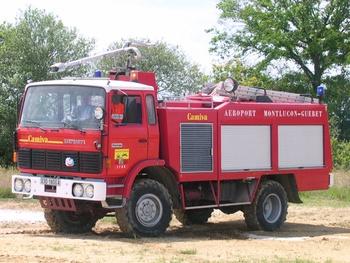 Véhicule pour interventions aéroportuaires, Sapeurs-pompiers, Creuse (23)
