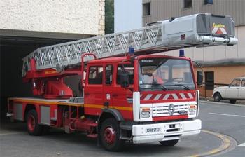 Echelle pivotante, Sapeurs-pompiers, Dordogne (24)