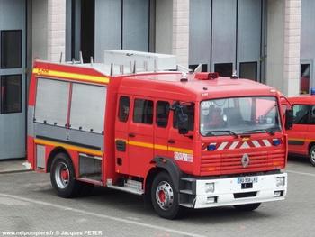 Fourgon-pompe tonne secours routier, Sapeurs-pompiers, Haut-Rhin