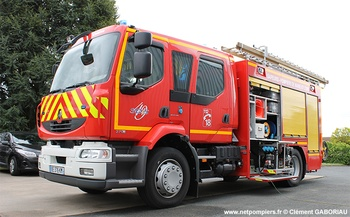 Fourgon-pompe tonne secours routier, Sapeurs-pompiers, Maine-et-Loire (49)