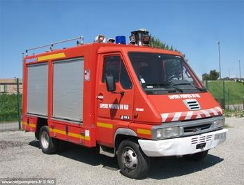 Véhicule de secours routier, Sapeurs-pompiers, Var (83)