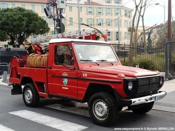 Camion-citerne pour feux de forêts léger, Sapeurs-pompiers, Alpes-Maritimes