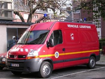 Véhicule de logistique, Sapeurs-pompiers, Somme (80)