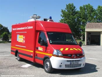 Véhicule poste de commandement, Sapeurs-pompiers, Vaucluse (84)