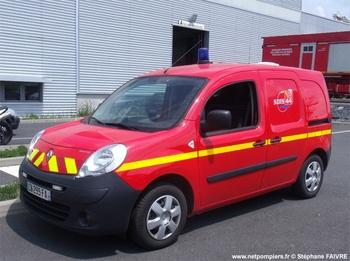 Véhicule pour interventions cynotechniques, Sapeurs-pompiers, Loire-Atlantique (44)