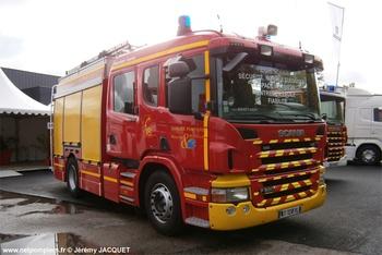 Fourgon-pompe tonne, Sapeurs-pompiers, Meurthe-et-Moselle (54)